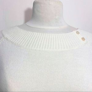 EAST 5TH boat neck rib neck pullover sweater S